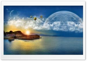 Dreams Of A Fantasy World Ultra HD Wallpaper for 4K UHD Widescreen desktop, tablet & smartphone