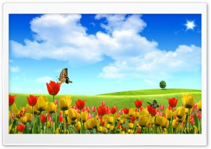 Dreamscape Spring HD Wide Wallpaper for Widescreen