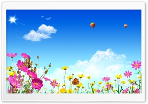 Dreamscape Spring 3 HD Wide Wallpaper for Widescreen