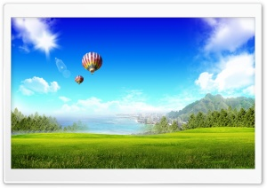 Dreamscape Summer 10 HD Wide Wallpaper for Widescreen