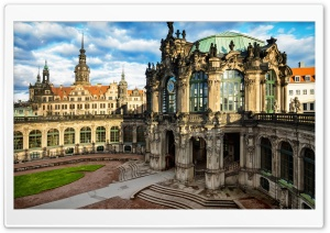Dresden Altstadt Germany HD Wide Wallpaper for 4K UHD Widescreen desktop & smartphone