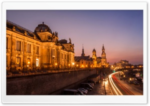 Dresden City HD Wide Wallpaper for 4K UHD Widescreen desktop & smartphone