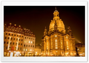 Dresden Frauenkirche HD Wide Wallpaper for Widescreen