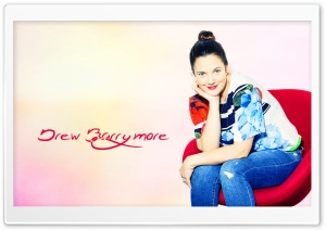Drew Barrymore HD Wide Wallpaper for Widescreen
