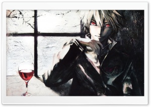 Drinking A Glass Of Wine Painting HD Wide Wallpaper for Widescreen