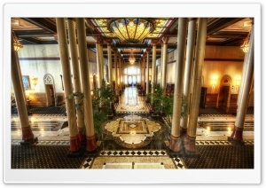 Driskill Hotel In Austin HD Wide Wallpaper for Widescreen