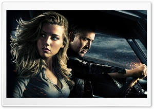 Drive Angry 3D Movie HD Wide Wallpaper for Widescreen