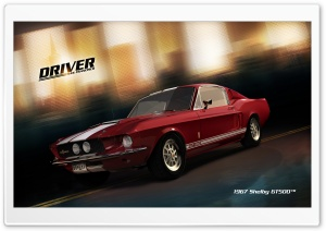 Driver San Francisco 1967 Shelby GT500 HD Wide Wallpaper for Widescreen