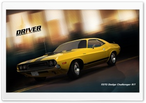 Driver San Francisco 1970 Dodge Challenger RT HD Wide Wallpaper for 4K UHD Widescreen desktop & smartphone