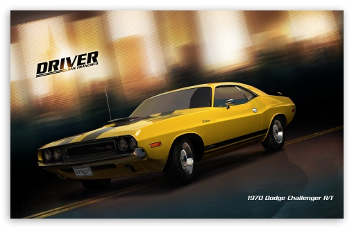 Driver San Francisco 1970 Dodge Challenger Rt 4k Hd