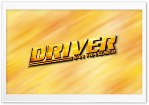 Driver San Francisco HD Wide Wallpaper for Widescreen