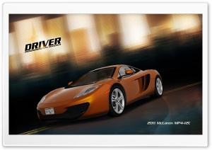 Driver San Francisco 2011 McLaren Mp4 12C HD Wide Wallpaper for 4K UHD Widescreen desktop & smartphone