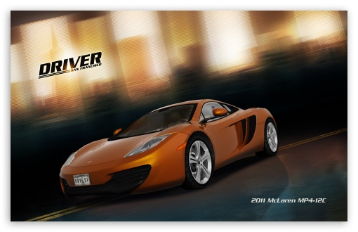 Driver San Francisco 2011 McLaren Mp4 12C HD wallpaper for Wide 16:10 5:3 Widescreen WHXGA WQXGA WUXGA WXGA WGA ; HD 16:9 High Definition WQHD QWXGA 1080p 900p 720p QHD nHD ; Standard 3:2 Fullscreen DVGA HVGA HQVGA devices ( Apple PowerBook G4 iPhone 4 3G 3GS iPod Touch ) ; Mobile 5:3 3:2 16:9 - WGA DVGA HVGA HQVGA devices ( Apple PowerBook G4 iPhone 4 3G 3GS iPod Touch ) WQHD QWXGA 1080p 900p 720p QHD nHD ;