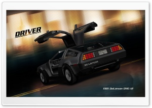 Driver San Francisco DeLorean DMC12 HD Wide Wallpaper for Widescreen