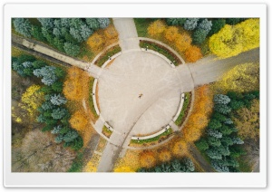 Drone Photography City Park Ultra HD Wallpaper for 4K UHD Widescreen desktop, tablet & smartphone
