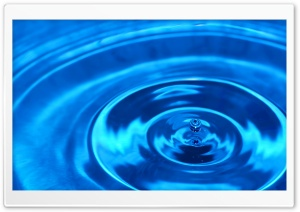 Droplet HD Wide Wallpaper for Widescreen