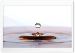 Droplet HD Wide Wallpaper for 4K UHD Widescreen desktop & smartphone