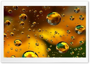 Drops - Kaply HD Wide Wallpaper for Widescreen