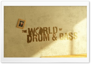 Drum And Bass Music HD Wide Wallpaper for Widescreen