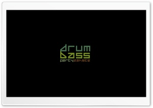Drun'n'Bass HD Wide Wallpaper for Widescreen