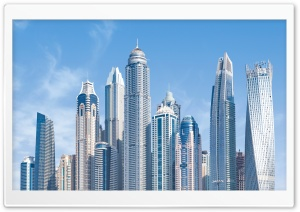 Dubai Beautiful City Ultra HD Wallpaper for 4K UHD Widescreen desktop, tablet & smartphone