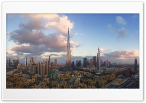 Dubai City HD Wide Wallpaper for Widescreen