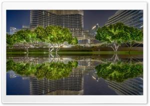 Dubai City Night Ultra HD Wallpaper for 4K UHD Widescreen desktop, tablet & smartphone