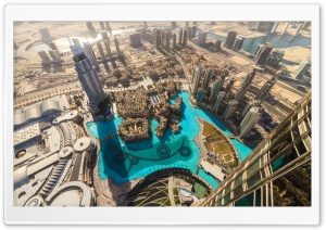 Dubai Timelapse HD Wide Wallpaper for Widescreen