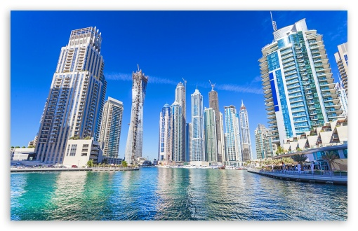 Dubai, United Arab Emirates, Skyscrapers ❤ 4K UHD Wallpaper for Wide 16:10 5:3 Widescreen WHXGA WQXGA WUXGA WXGA WGA ; 4K UHD 16:9 Ultra High Definition 2160p 1440p 1080p 900p 720p ; Standard 3:2 Fullscreen DVGA HVGA HQVGA ( Apple PowerBook G4 iPhone 4 3G 3GS iPod Touch ) ; Mobile 5:3 3:2 16:9 - WGA DVGA HVGA HQVGA ( Apple PowerBook G4 iPhone 4 3G 3GS iPod Touch ) 2160p 1440p 1080p 900p 720p ;