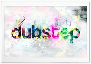 Dubstep Colored HD Wide Wallpaper for Widescreen