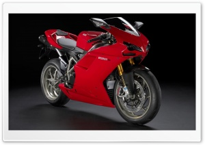 Ducati 1198S Sportbike HD Wide Wallpaper for Widescreen