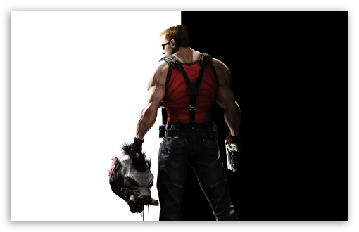 Duke Nukem Forever HD wallpaper for Wide 16:10 5:3 Widescreen WHXGA WQXGA WUXGA WXGA WGA ; HD 16:9 High Definition WQHD QWXGA 1080p 900p 720p QHD nHD ; UHD 16:9 WQHD QWXGA 1080p 900p 720p QHD nHD ; Standard 4:3 5:4 3:2 Fullscreen UXGA XGA SVGA QSXGA SXGA DVGA HVGA HQVGA devices ( Apple PowerBook G4 iPhone 4 3G 3GS iPod Touch ) ; Tablet 1:1 ; iPad 1/2/Mini ; Mobile 4:3 5:3 3:2 16:9 5:4 - UXGA XGA SVGA WGA DVGA HVGA HQVGA devices ( Apple PowerBook G4 iPhone 4 3G 3GS iPod Touch ) WQHD QWXGA 1080p 900p 720p QHD nHD QSXGA SXGA ;
