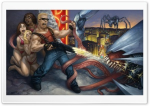 Duke Nukem Forever HD Wide Wallpaper for Widescreen