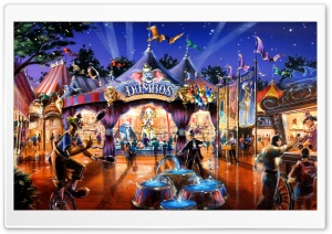 Dumbo In Fantasyland HD Wide Wallpaper for 4K UHD Widescreen desktop & smartphone
