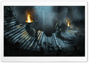 Dungeon Siege 3 HD Wide Wallpaper for 4K UHD Widescreen desktop & smartphone