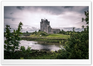 Dunguaire Castle, Kinvara, County Galway, Ireland HD Wide Wallpaper for 4K UHD Widescreen desktop & smartphone