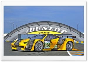 Dunlop Le Mans HD Wide Wallpaper for Widescreen