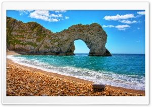 Durdle Door Beach HD Wide Wallpaper for Widescreen