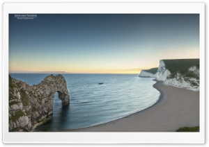 Durdle Door Sunset HD Wide Wallpaper for 4K UHD Widescreen desktop & smartphone