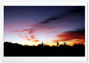 Dusk Arizona HD Wide Wallpaper for 4K UHD Widescreen desktop & smartphone
