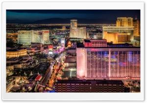 Dusk in Vegas Ultra HD Wallpaper for 4K UHD Widescreen desktop, tablet & smartphone