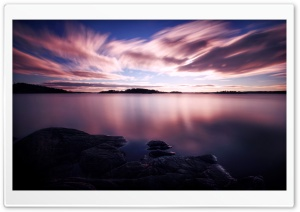 Dusk Long Exposure HD Wide Wallpaper for Widescreen