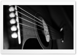 Dusty Guitar HD Wide Wallpaper for Widescreen