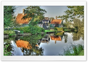 Dutch Homes HD Wide Wallpaper for Widescreen