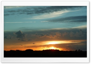 Dutch Sunset HD Wide Wallpaper for Widescreen