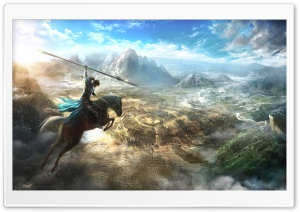 Dynasty Warriors 9 Key Art HD Wide Wallpaper for Widescreen