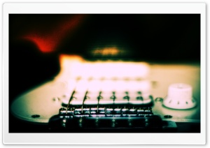 E-Guitar HD Wide Wallpaper for Widescreen