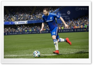EA FIFA 15 - Eden Hazard HD Wide Wallpaper for Widescreen