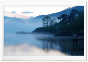 Early Morning, Lake HD Wide Wallpaper for Widescreen