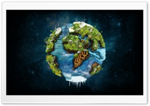 Earth Different Perspective HD Wide Wallpaper for Widescreen